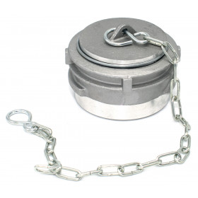 Symmetrical Guillemin stopper with lock and aluminum chain