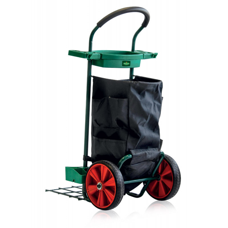 Multifunctional garden trolley