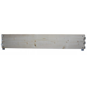 Extension board pallet length 120 cm