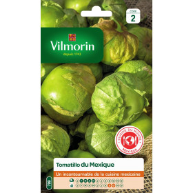Sachet graines Tomatillo du mexique