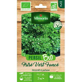 Sachet Seeds Parsley Dark Green BIO - Petroselinum sativum