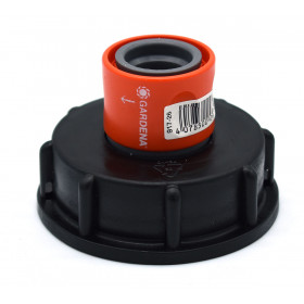 S60x6 connection - Gardena rapid coupling female outlet