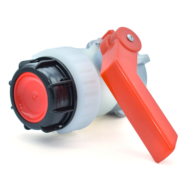 Product sheet Butterfly valve type A 2 inches with floating nut 70mm for Schutz tank