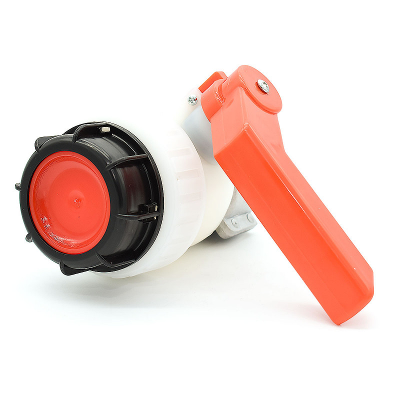 Butterfly valve type A 2 inch with nut floating tank Sotralentz 56 mm