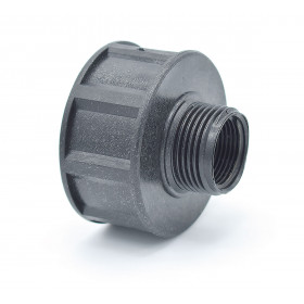 Female connector S60x6 - male output 1 '' BSP or female 3/4 '' BSP