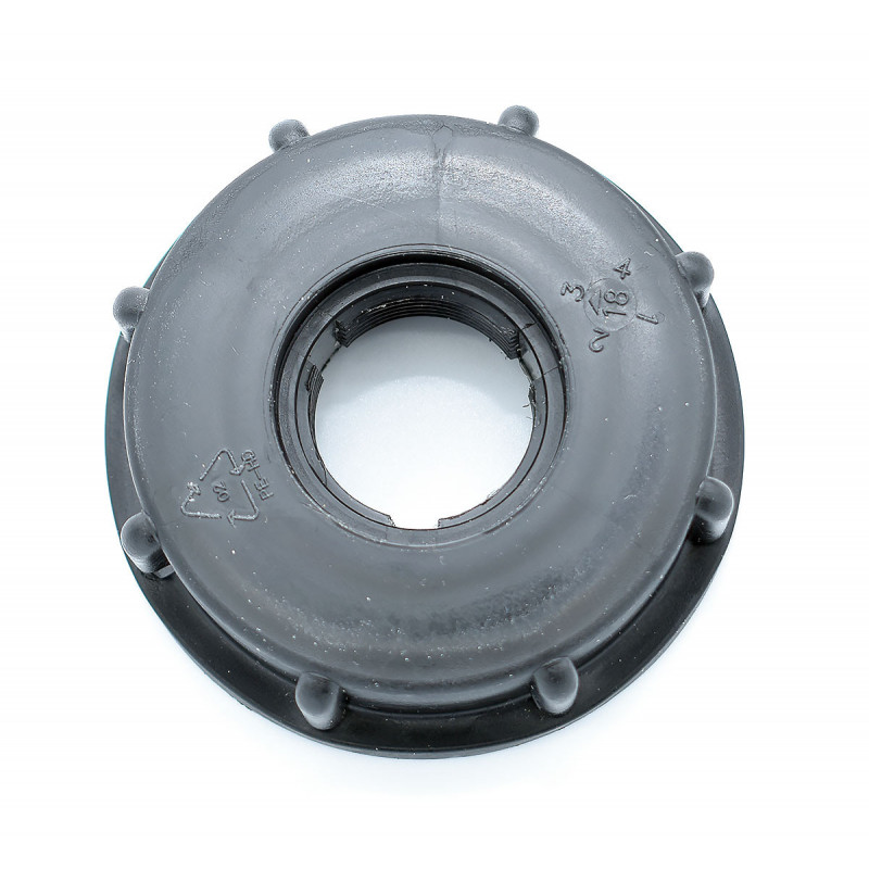 "Product sheet Female cap 2 ""S60x6 - threaded 3/4"", not gas"