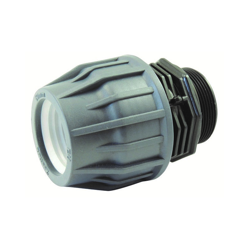 Male Thread Compression Adapter for Pool Hose