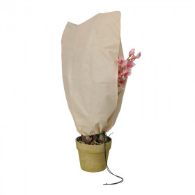 Winter cover and protection for plants 80x60cm with zipper - set of 2