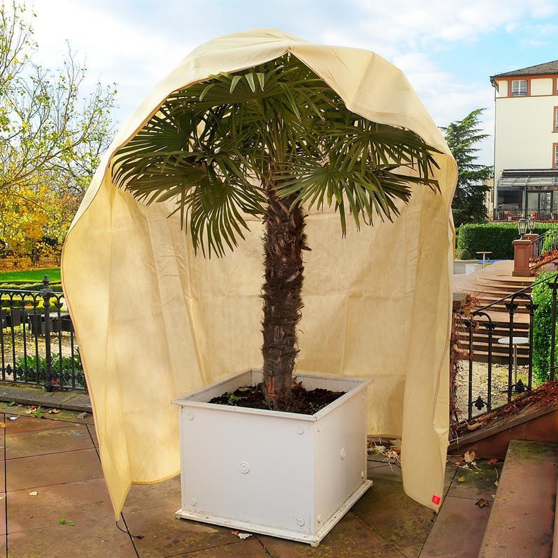 Winter cover and protection for plants 200x300cm with zipper