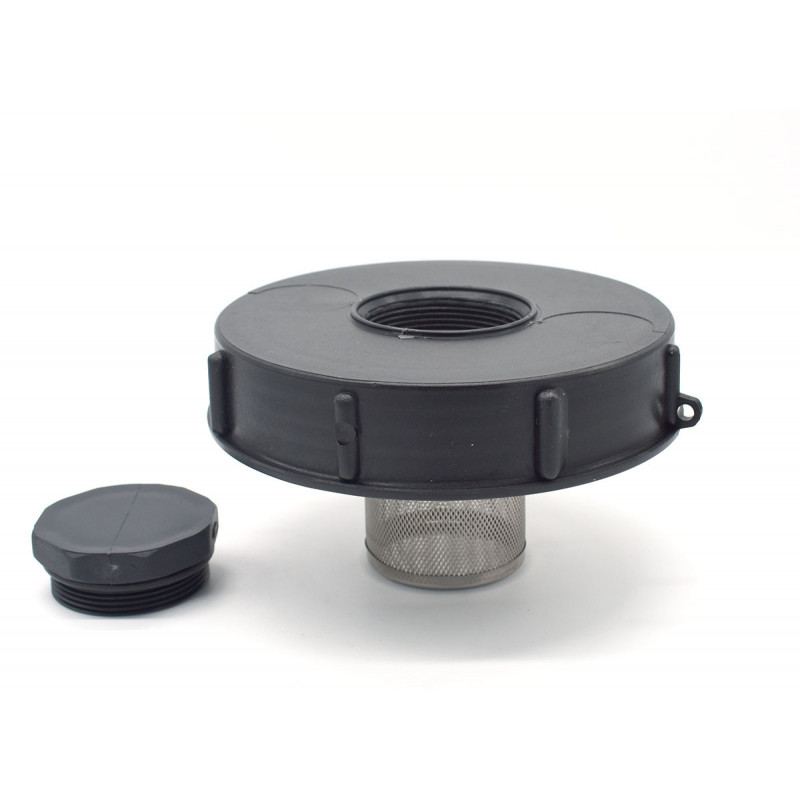 Lid diameter 15cm for IBC tank 1000 liters and filter 2 inches