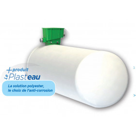 Product sheet Polyester tank ECOGVP 10000 liters