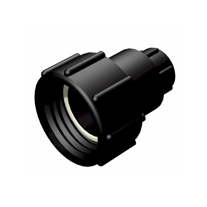 "Product sheet S60x6 female fitting 2 ""- female 3/4"" gas thread"