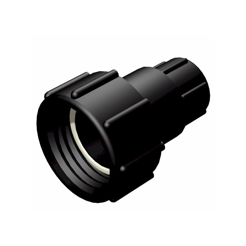 "Product sheet Female connector S60x6 2 ""- female gas thread 1"""