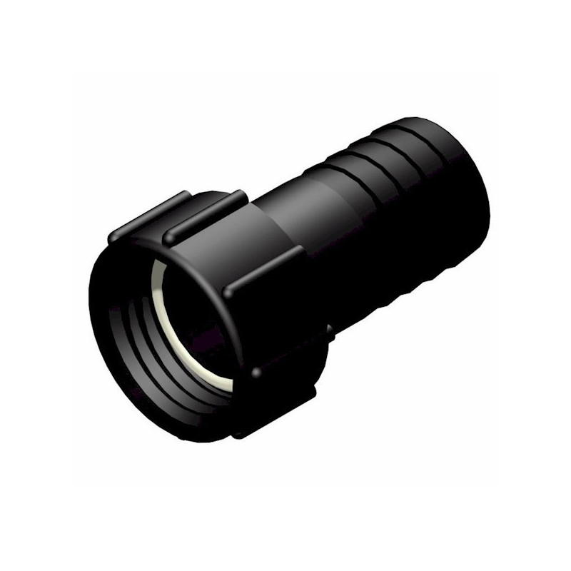 """Product sheet 2 """"female connector S60x6 - straight fluted male Ø 50mm"""