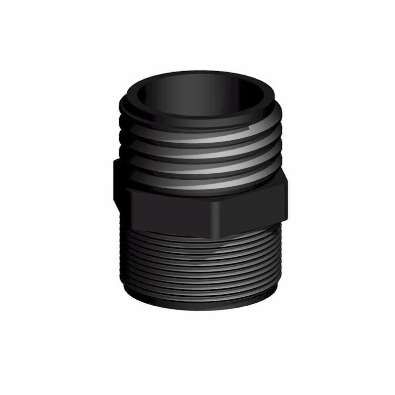 "Product sheet Male 2 ""male s60x6 - 2"" female thread"