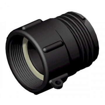 """Female connector 2 """"gas schroefdraad - mannetje 2"""" S60x6"""