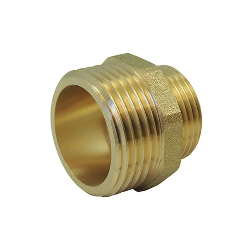 Nipple Male / Male Reduced Brass