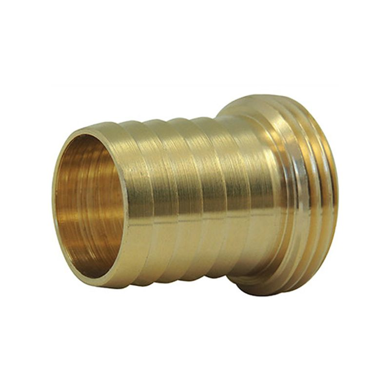Male splined tip - male threaded brass