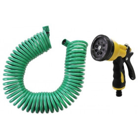 Product sheet Spiral hose with gun
