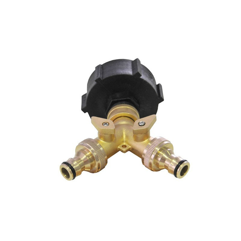 Product sheet Brass 2-way selector for IBC tank