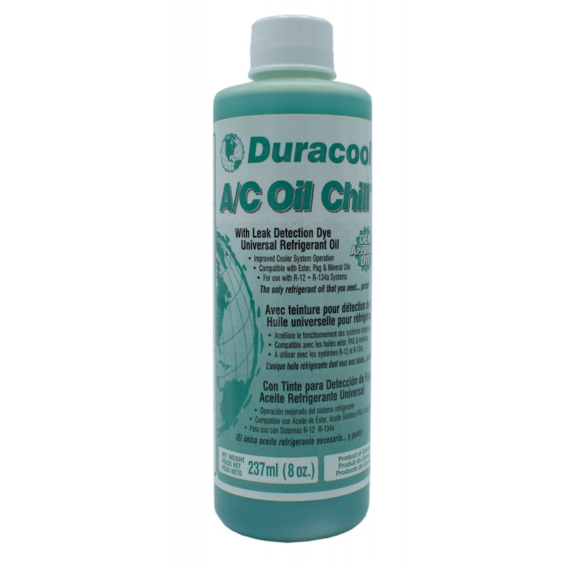BOUTEILLE HUILE DURACOOL A/C OIL - 227GR