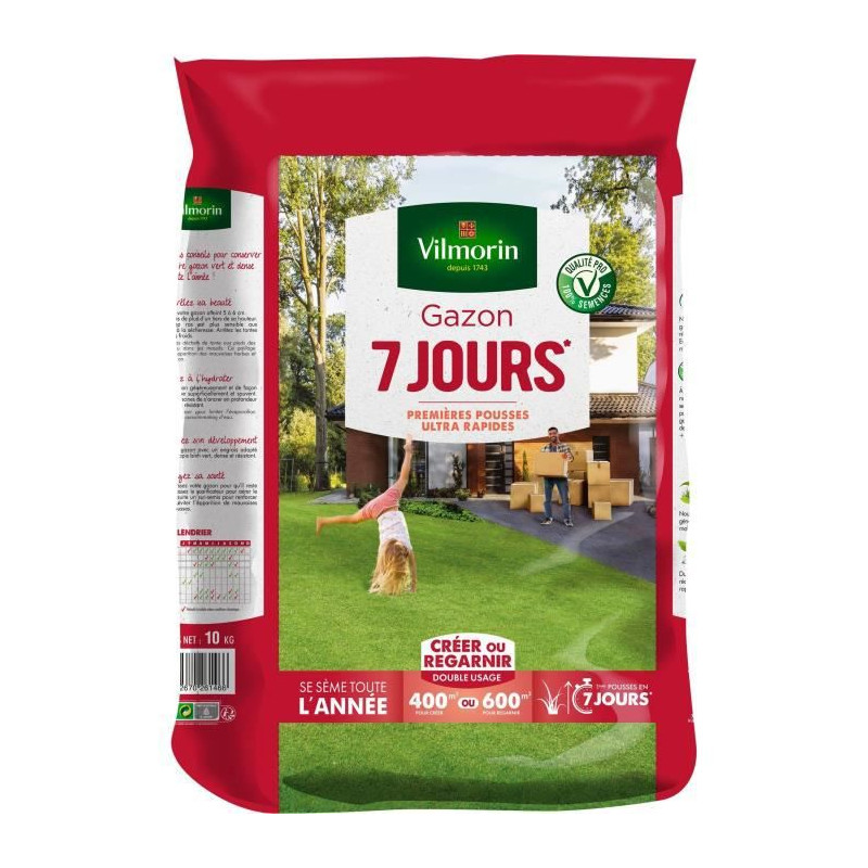 Turf 7 days 5 kgs including 1 kg free