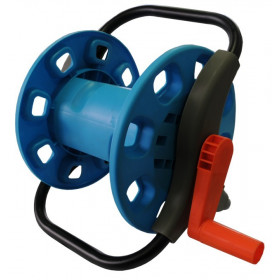 Trolley metal wheel garden hose reel