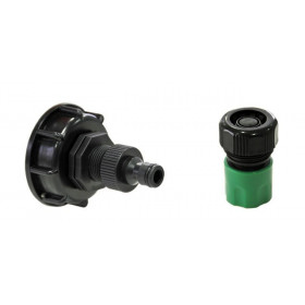 Product sheet S60x6 fitting with male end + quick coupling