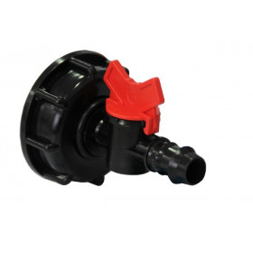 Product sheet Connection with 20mm male fluted valve