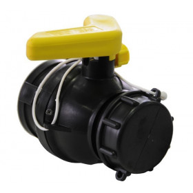 Product sheet Ball valve 56mm with floating nut and LDPE seals