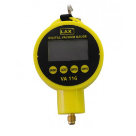 Digital vacuum gauge for vacuum pump
