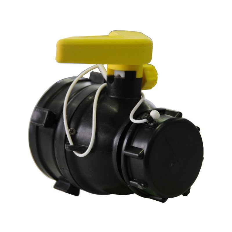 Product sheet 70mm ball valve with floating nut and LDPE seals
