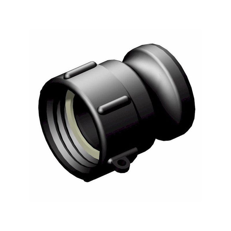 """Product sheet Female connector S60x6 2 '' - male camlock 2 """""""