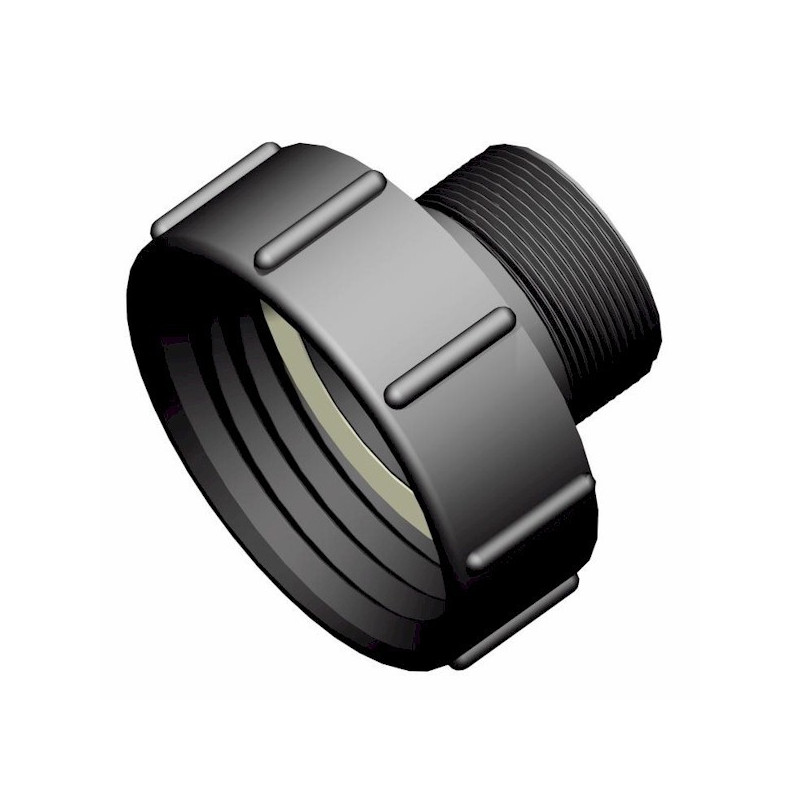 """Product sheet S100x8 female connector - NPS 2 """"male thread"""