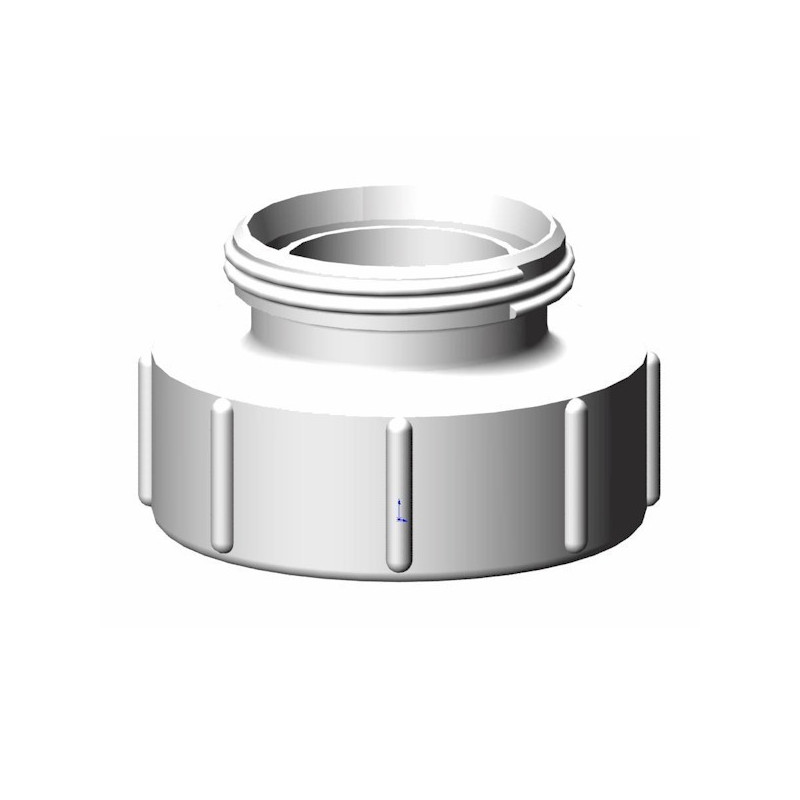 Product sheet Female connector S100x8 - male threaded RD78 (DIN 11851)