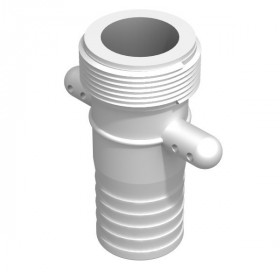 Product sheet Male 1''1 / 2 BSP male fitting - straight barbed 38mm