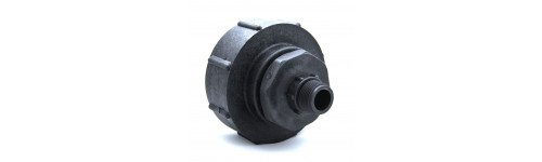 Female connector s100x8 - male threaded output BSP