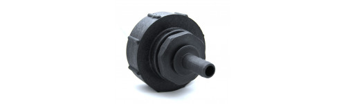 Female connector S100x8 - male spline outlet