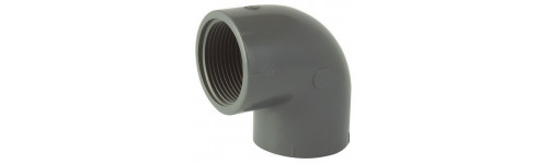 PVC elbow to screw