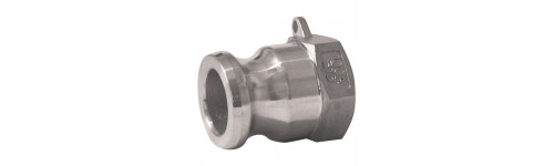 Stainless steel cam fittings