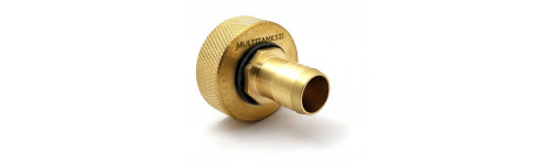 Brass splined fittings