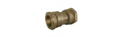 Brass compression sleeve
